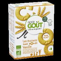 GOOD GOUT Vanilkové kolieska BIO 80 g
