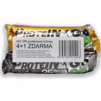 GO ON! Proteínové tyčinky 4+1 Zadarmo