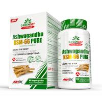 GREENDAY ProVegan Ashwagandha KSM-66 pure 60 kapsúl