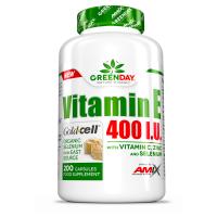 GREENDAY Vitamín E 400 I.U. LIFE+ 200 kapsúl