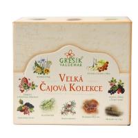 GREŠÍK Veľká čajová kolekcia 9x 10 nálevových vrecúšok