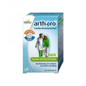 Arthor - Grünlip Muschel Konzentrat + Vitamin.180ks