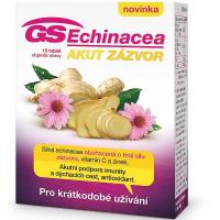 GS Echinacea Akut zázvor 15 tabliet