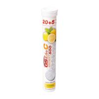 GS Extra C 500 citrón 20+5 šumivých tabliet
