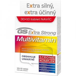 GS Extra Strong Multivitamín 30+10 tabliet