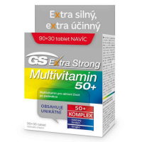 GS Extra Strong Multivitamín 50+ 90+30 tabliet