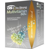 GS Extra strong multivitamín 50+ 90 + 30 tabliet DARČEK 2021