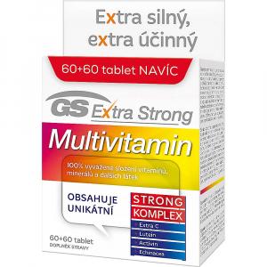 GS Extra Strong Multivitamin 60+60 tabliet