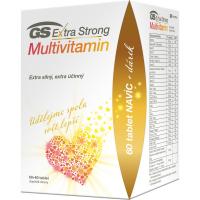 GS Extra strong multivitamín 60 + 60 tabliet DARČEK 2021
