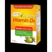 GS Extra Strong Vitamín D3 2000IU 90 kapsúl