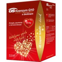 GS Koenzým Q10 60 mg 45 + 45 kapsúl DARČEK 2021