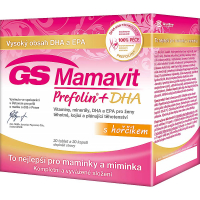 GS Mamavit Prefolin + DHA + EPA 30 tabliet + 30 kapsúl