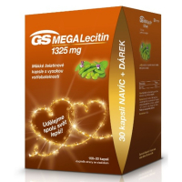 GS MEGALecitín 1325 mg 100 + 30 kapsúl EDÍCIA 2020