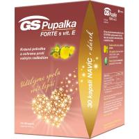 GS Pupalka forte s vitamínom E 70 + 30 kapsúl DARČEK 2021