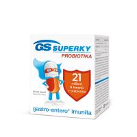 GS Superky probiotiká 60 + 20 kapsúl VÝHODNÉ balenie