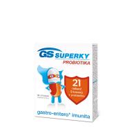 GS Superky probiotiká 30 + 10 kapsúl zdarma