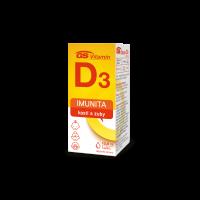 GS Vitamín D3 400IU kvapky 10,8 ml