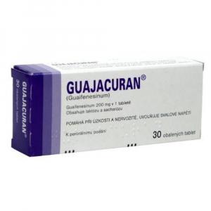 GUAJACURAN 200 mg x 30 tabliet