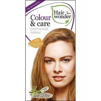 HAIRWONDER Prírodné dlhotrvajúca farba na vlasy Stredne zlatá blond 7.3
