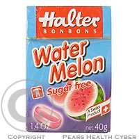 HALTER cukríky Water Melon 40g (vodný melón)