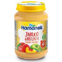 HAMÁNEK Broskyne s jablkami 190 g