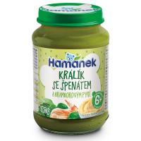 HAMÁNEK Králik so špenátom a zemiakovým pyré 190 g