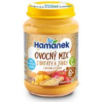 HAMÁNEK Ovocný mix so sladkými zemiakmi a pšenom 190 g
