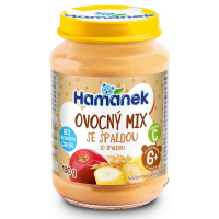 HAMÁNEK Ovocný mix so špaldou 190 g
