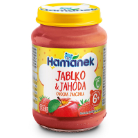 HAMÁNEK Jahoda s jablkami 190 g