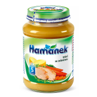 Hamánek teľacie so zeleninou 190 g