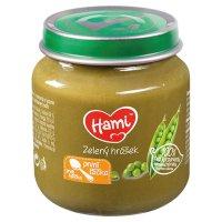 Hami zeleninový príkrm Zelený hrášok prvá lyžička (od ukonč. 4. mesiaca) 1x125 g