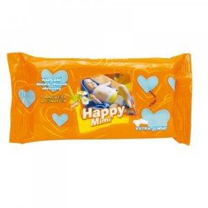 HAPPY MIMI Detské toaletné vlhčené obrúsky s aloe 72 ks