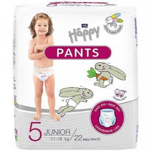 BELLA HAPPY Pants Junior naťahovacie plienkové nohavičky 22 ks