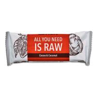 HAPPYBAR Raw kakaová tyčinka s kokosom 50 g BIO