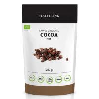 HEALTH LINK BIO RAW kakaové bôby drvené 250 g