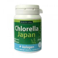 HEALTH LINK Chlorella Japan + kolagén 250 tablet