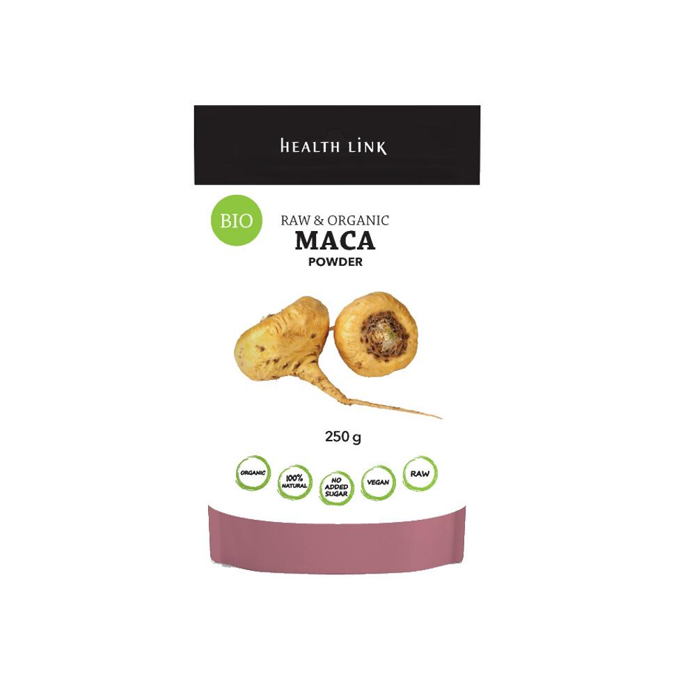 HEALTH LINK BIO RAW prášok Maca 250 g