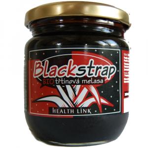 HEALTH LINK Melasa trstinová Blackstrap 504 g BIO