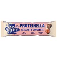 HEALTHYCO Proteinella chocolate bar s príchuťou čokoláda a lieskový orech 35 g