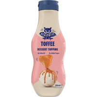 HEALTHYCO Dessert Topping s príchuťou karamelu 250 ml