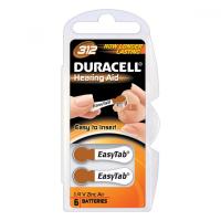 DURACELL 312 EASYTAB 1.4V, 6 batérií