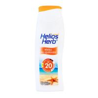 HELIOS Herb mlieko na opaľovanie 200 ml OF 20