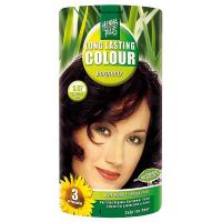 HENNA PLUS Prírodná farba na vlasy BURGUNDSKÁ HNEDÁ 3.67 100 ml