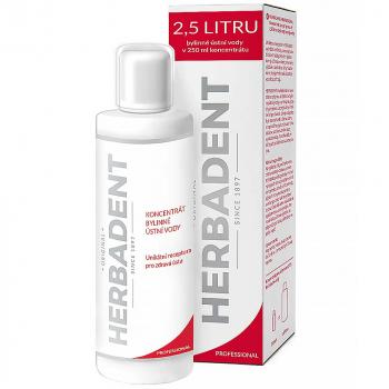 HERBADENT Ústna voda - koncentrát 250 ml