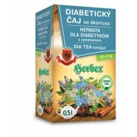 HERBEX Hladina cukru diabetický čaj 20 sáčkov
