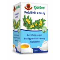 HERBEX Kotvičník zemný čaj 20 sáčkov