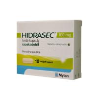 HIDRASEC 100 mg 10 tvrdých kapsúl