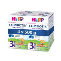 HiPP 3 JUNIOR Combiotik Pokračovacie batoľacie mlieko od 12 - 24 mesiacov 4x 500 g