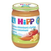 HIPP Baby Zelenina s cestovinami a šunkou BIO 190 g