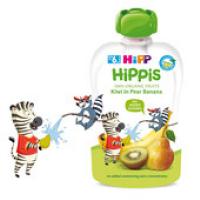 HiPP BIO 100% ovocie Hruška-Banán-Kiwi 100 g